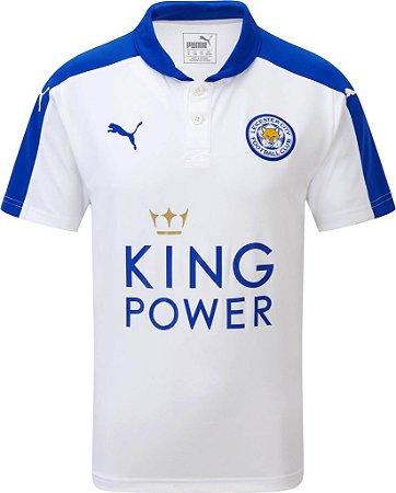 Camisa oficial Puma Leicester City 2015 2016 III jogador