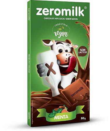 Tablete ZEROMILK MENTA 80g