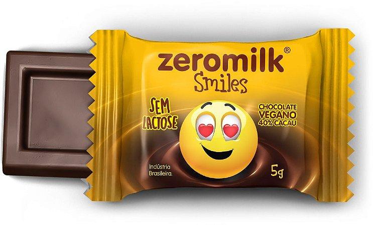 Display ZEROMILK SMILES  com 30 Mini Tabletes de 5g - 40% Cacau