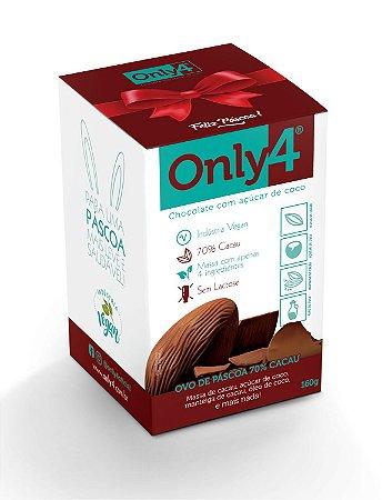 Ovo de Páscoa ONLY4 - Puro - (Açúcar de coco)