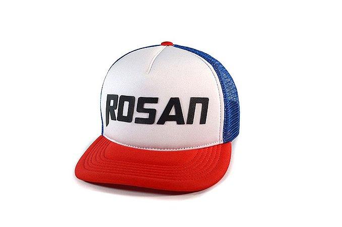 BONÉ ROSAN TRUCKER - AZUL