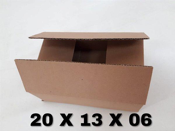KIT 100 CAIXAS 16X11X06 E 300 20X13X06