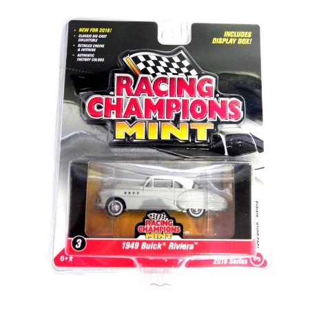 Buick Riviera 1949 1/64 Johnny Lightning Racing Champions