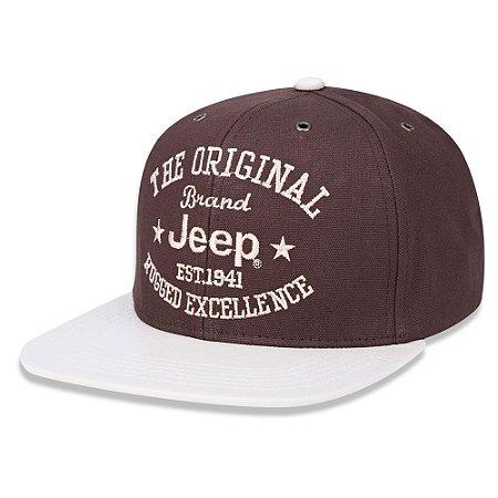 Boné Jeep Rugged Excellence Aba Reta
