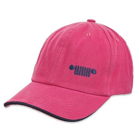 Boné Grade Clássico Feminino Pink