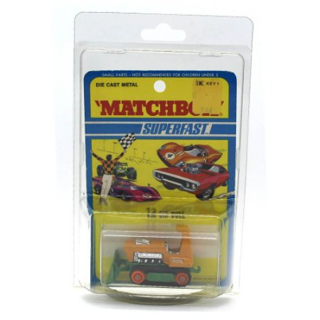 Big Full Trator de Esteira Superfast N 12 1975 1/64 Matchbox