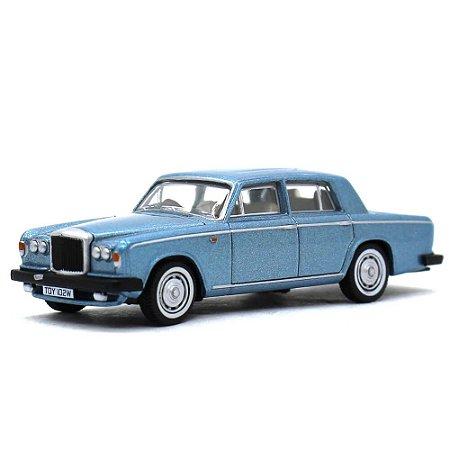 Bentley T2 Saloon Caribbean Azul 1/76 Oxford Automobile