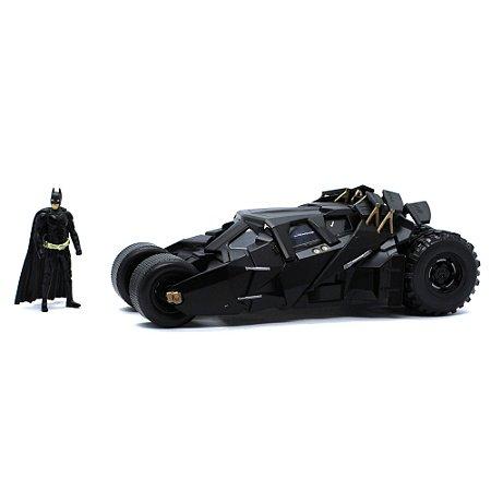 Batmovel Tumbler Batman O Cavaleiro das Trevas 1/24 Jada Toys