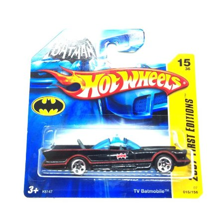 Batmovel Serie TV 1/64 Hot Wheels 2007 First Editions
