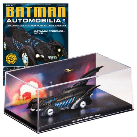 Batmovel do filme Batman Forever Automobilia 4 1/43 Eaglemoss