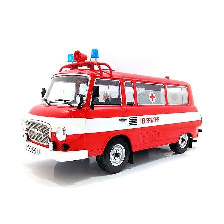 Barkas B 1000 Bus Bombeiros 1965 1/18 Model Car