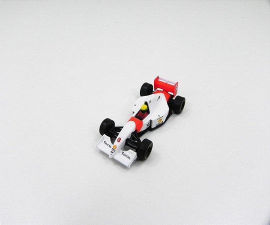 Ayrton Senna Mclaren Mp4/5B Ford 1993 1/64 Kyosho