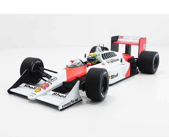 Ayrton Senna Mclaren 1988 MP4/4 Honda V6 1/18 Minichamps