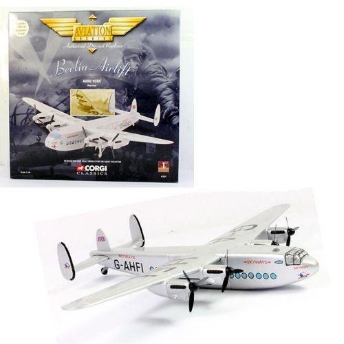 Avião Skyways Avro York 1/144 Corgi