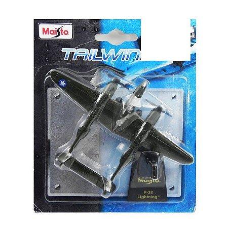 Avião P-38 Lightning Maisto Tailwinds