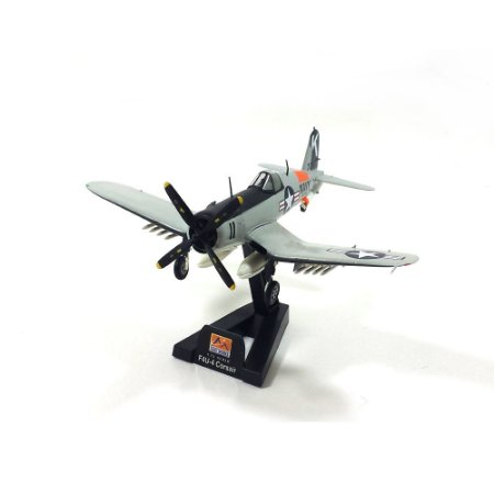 Avião F4U-4 Corsair USN Kansas 1956 1/72 Easy Model
