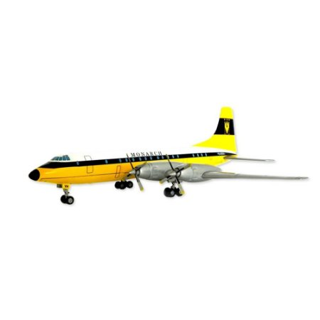 Avião Bristol Britannia Monarch Airlines G-AOVH 1/144 Corgi