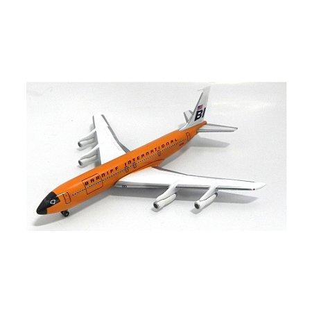 Avião Braniff Internat. Boieng 707-327C N7102 1/400 Gemini Jets