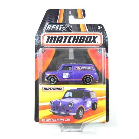 Austin Mini Van 1965 1/64 Best Of Matchbox