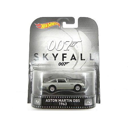 Aston Martin DB5 1963  007 James Bond  Skyfall 1/64 Hot Wheels