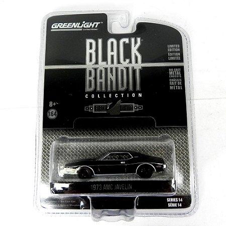 AMC Javelin Black Bandit Série 14 1973 1/64 Greenlight