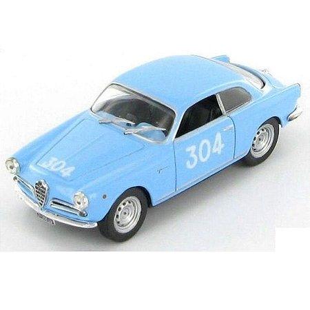 Alfa Romeo Giulietta Sprint Vel 1955 1/43 1000 Miglia Hachette