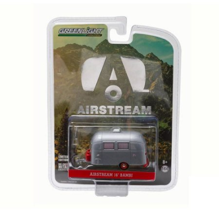 Trailer Airstream 16 Bambi 1/64 Greenlight