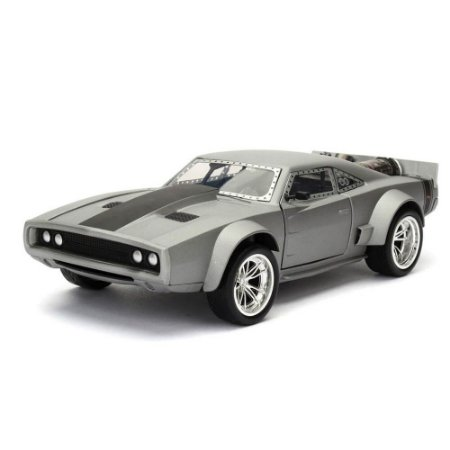 Dodge Charger R/T Dom Ice Charger Velozes e Furiosos 8 1/24 Jada