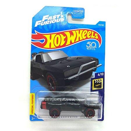 Dodge Charger 1970 Velozes e Furiosos 1/64 Hot Wheels 50 Anos