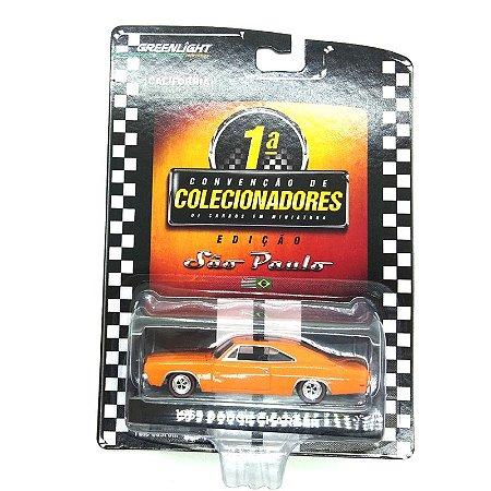 Dodge Charger 1969 1° Convenção de Colecionadores SP 1/64 Greenlight