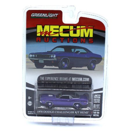Dodge Challenger RT Hemi 1970 Mecum Auctions 1/64 Greenlight