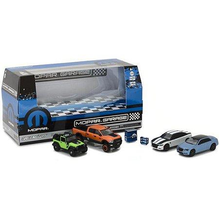 Diorama Mopar Garage 1/64 Greenlight
