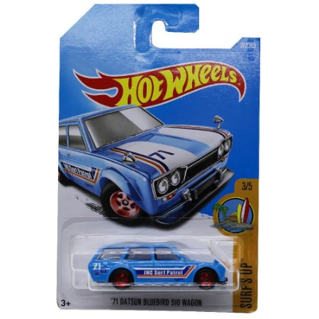 Datsun Bluebird 510 Wagon 1971 1/64 Hot Wheels