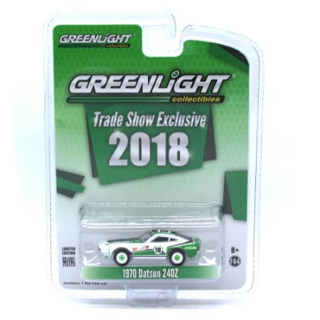 Datsun 240Z 1970 Trade Show 2018 Exclusive 1/64 Greenlight