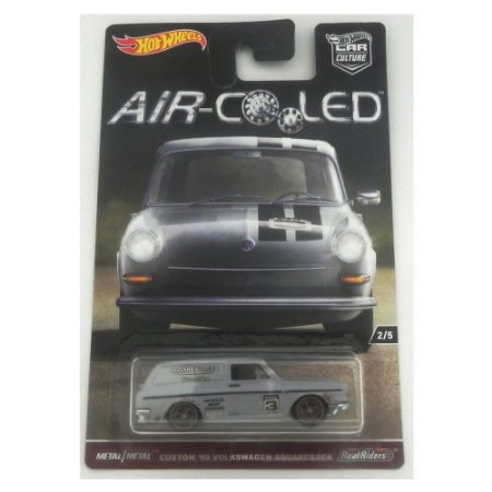 Custom 69 Volkswagen Squareback Air-Colled 1/64 Hot Wheels