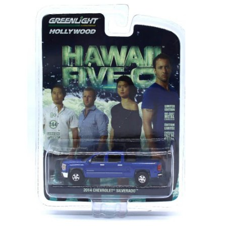 Chevrolet Silverado 2014 Hawaii Five-0 1/64 Greenlight