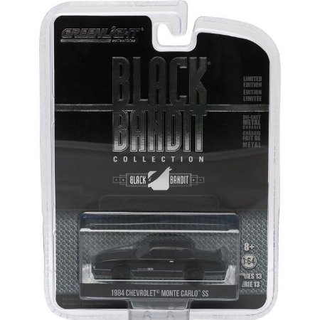 Chevrolet Monte Carlo SS Black Bandit 1984 1/64 Greenlight
