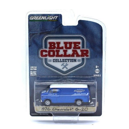 Chevrolet G20 1976 Blue Collar Serie 2 1/64 Greenlight