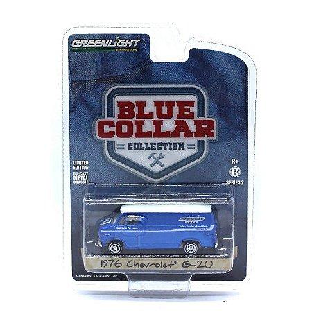 Chevrolet G20 1976 Blue Collar Serie 2 1/64 Greenlight