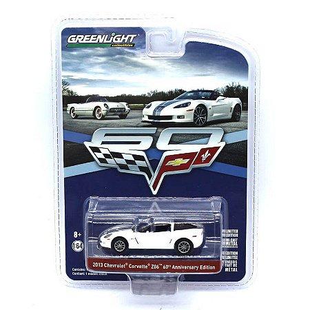 Chevrolet Corvette Z06 2013 Edição 60 anos 1/64 Greenlight