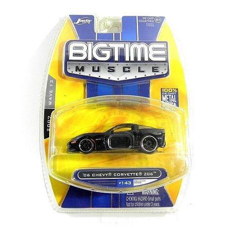 Chevrolet Corvette Z06 2006 1/64 Jada Toys Bigtime Muscle