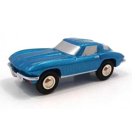 Chevrolet Corvette Stingray Blau Met Limited Edition 1/90 Schuco
