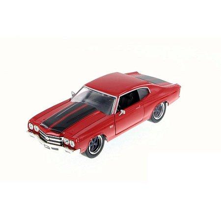 Chevrolet Chevelle SS Toretto Velozes e Furiosos 4 1/24 Jada