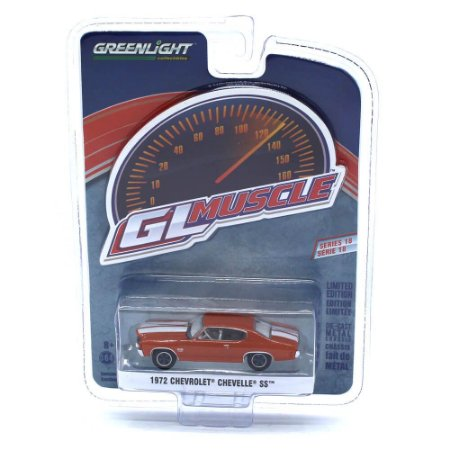 Chevrolet Chevelle SS 1972 GL Muscle Serie 18 1/64 Greenlight