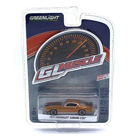 Chevrolet Camaro Z28 1972 GL Muscle Serie 19 1/64 Greenlight