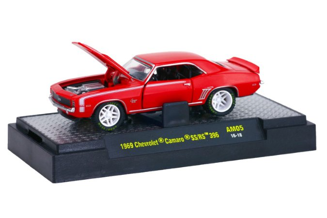 Chevrolet Camaro Ss/Rs 396 1969 1/64 M2 Machines