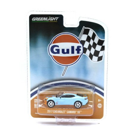 Chevrolet Camaro SS 2017 Gulf 1/64 Greenlight