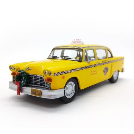 Checker Taxi 1978 Scrooged 1/43 Greenlight