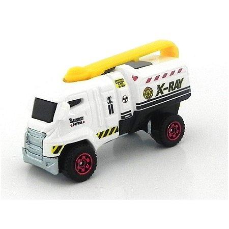 Caminhão Xcanner Mbx Heroic Rescue 1/64 Matchbox
