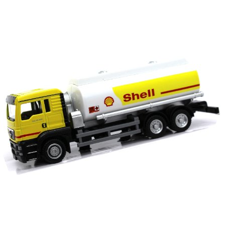 Caminhão Tanque Man TGS Shell 1/64 California Junior Truck